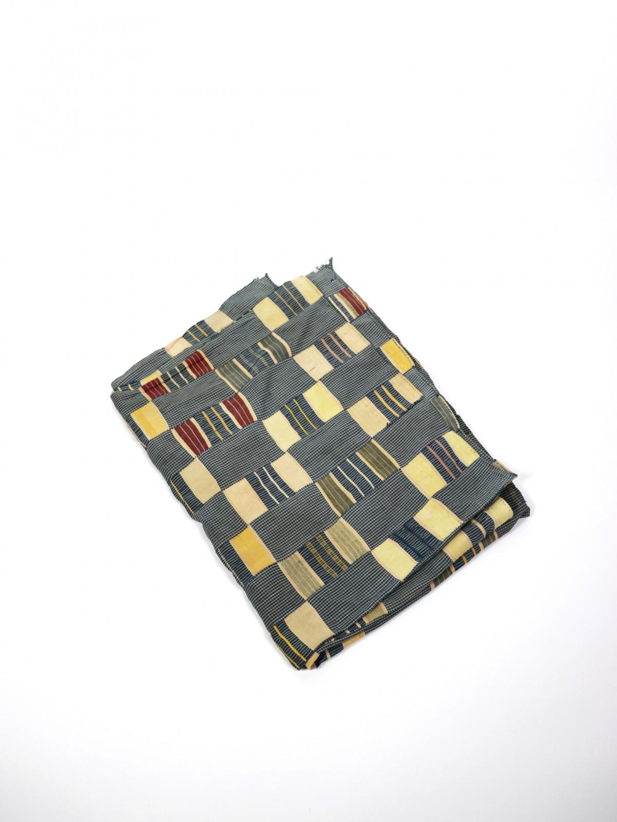 Vintage african, fabric, african indigo