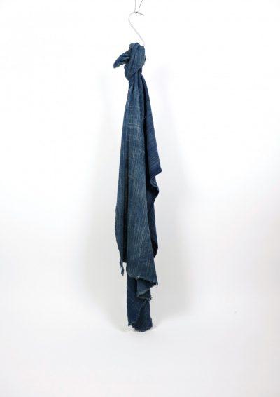 African indigo, shawl