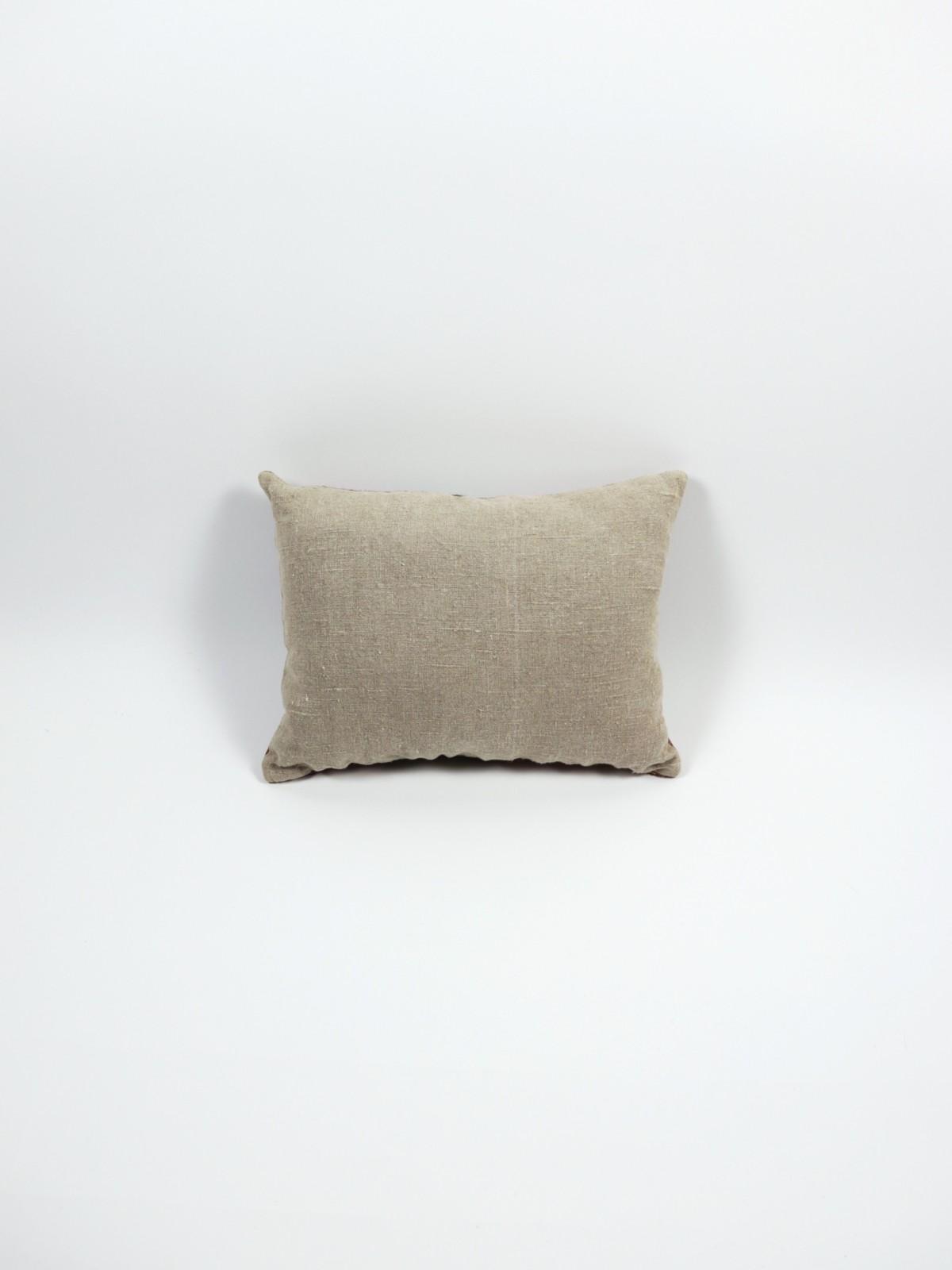 brown remake, cushion, native american