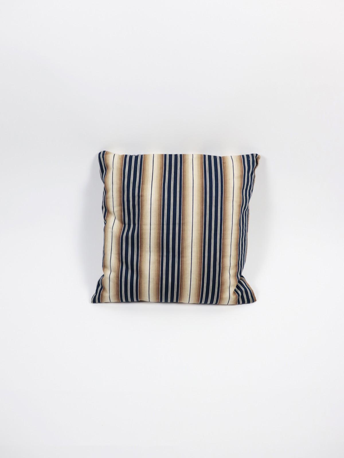 1950's fanric, USA, cushion