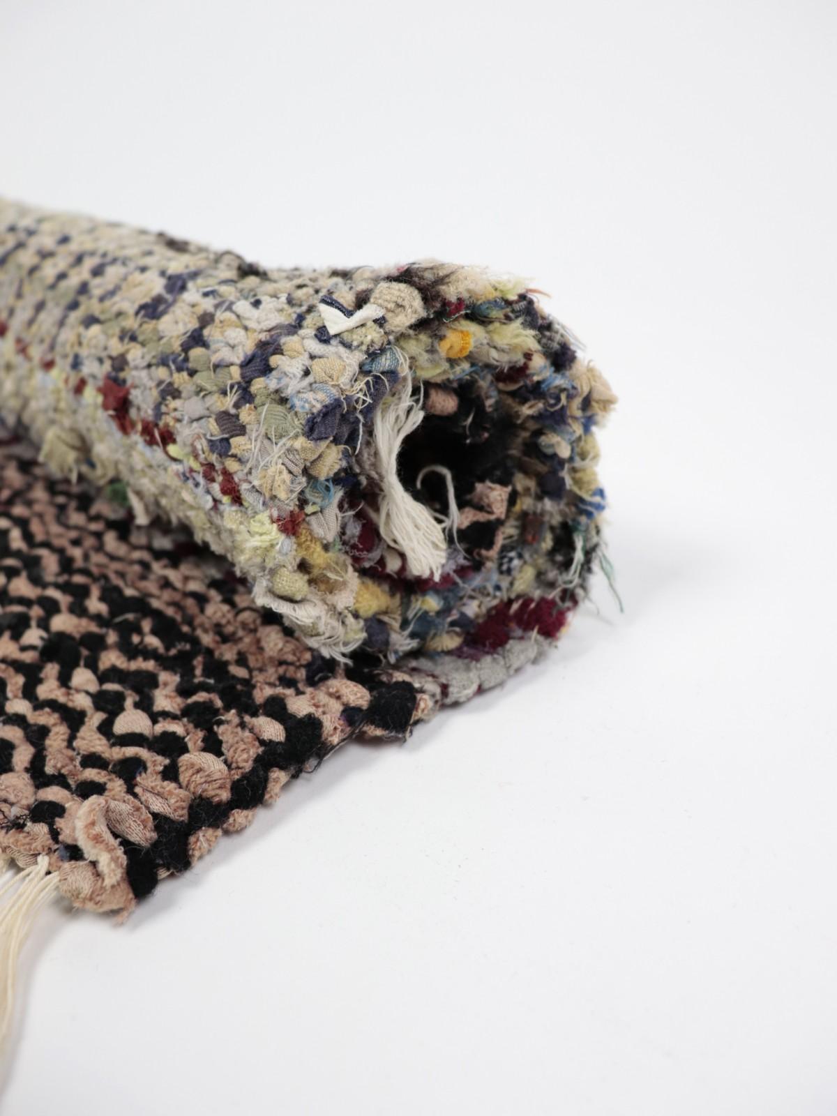 Swedish rag rug, Cotton