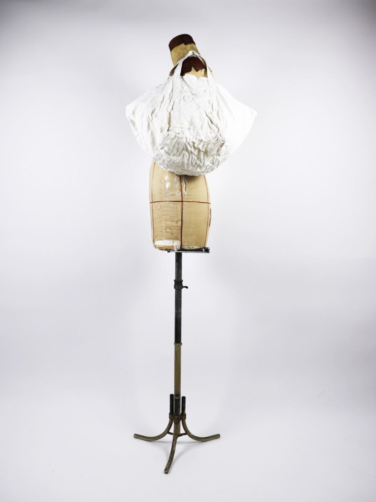 Dead stock linen,Brown remake, bag