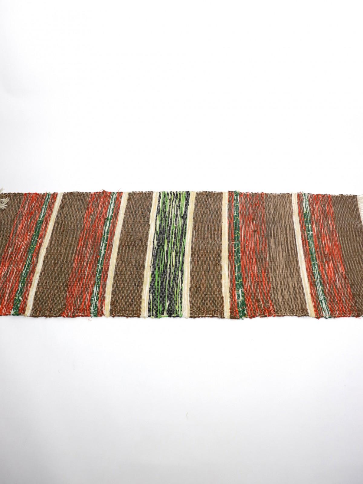 Swedish rag rug, cotton, 1930-1950's