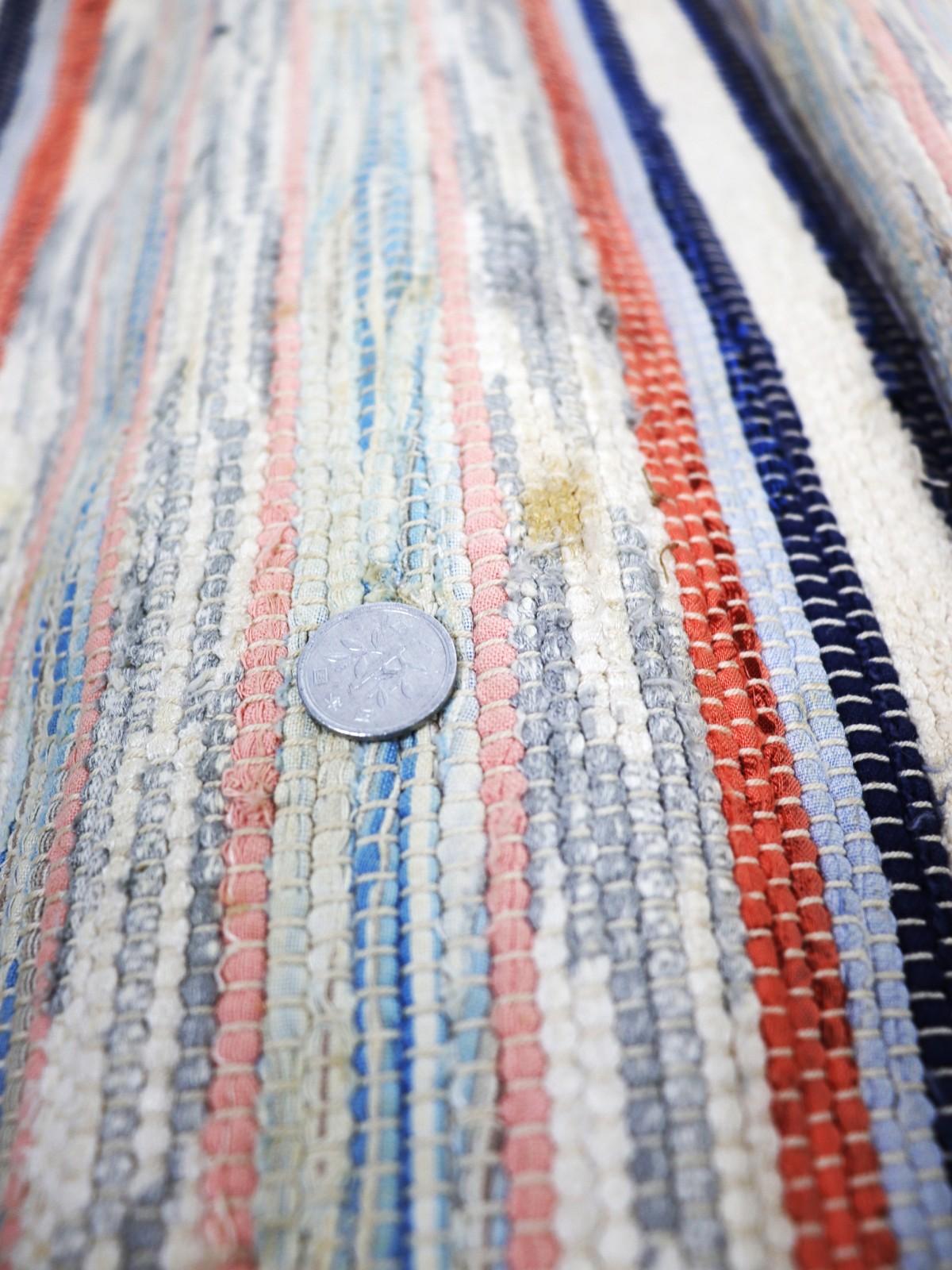 Swedish rag rug,cotton, 1930-1950's