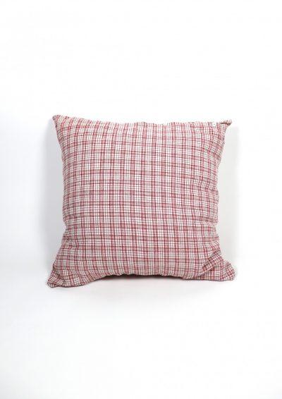 German fabric 、Cotton 100%、CHECK、Cushion