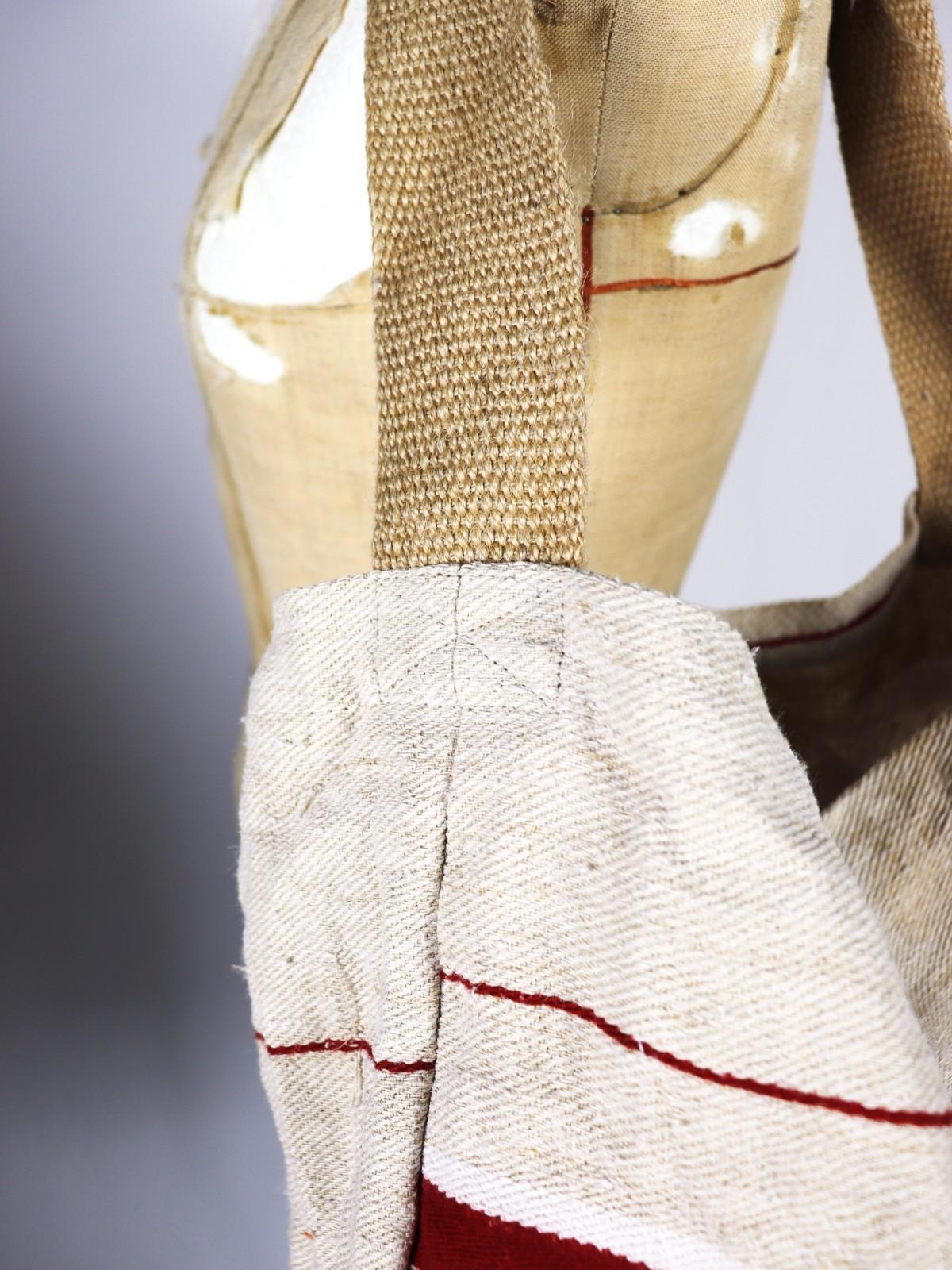 Hungarian grain sack, Brown,remake, Bag