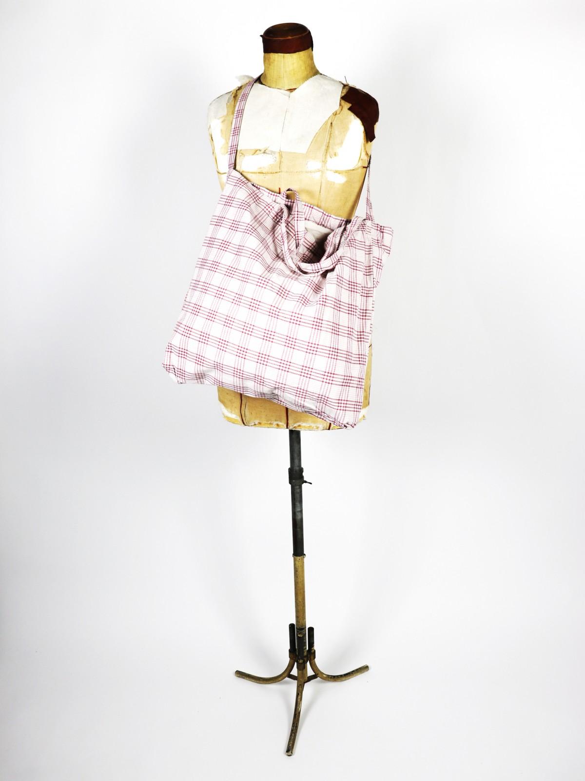 German fabric ,Bag,Cotton check