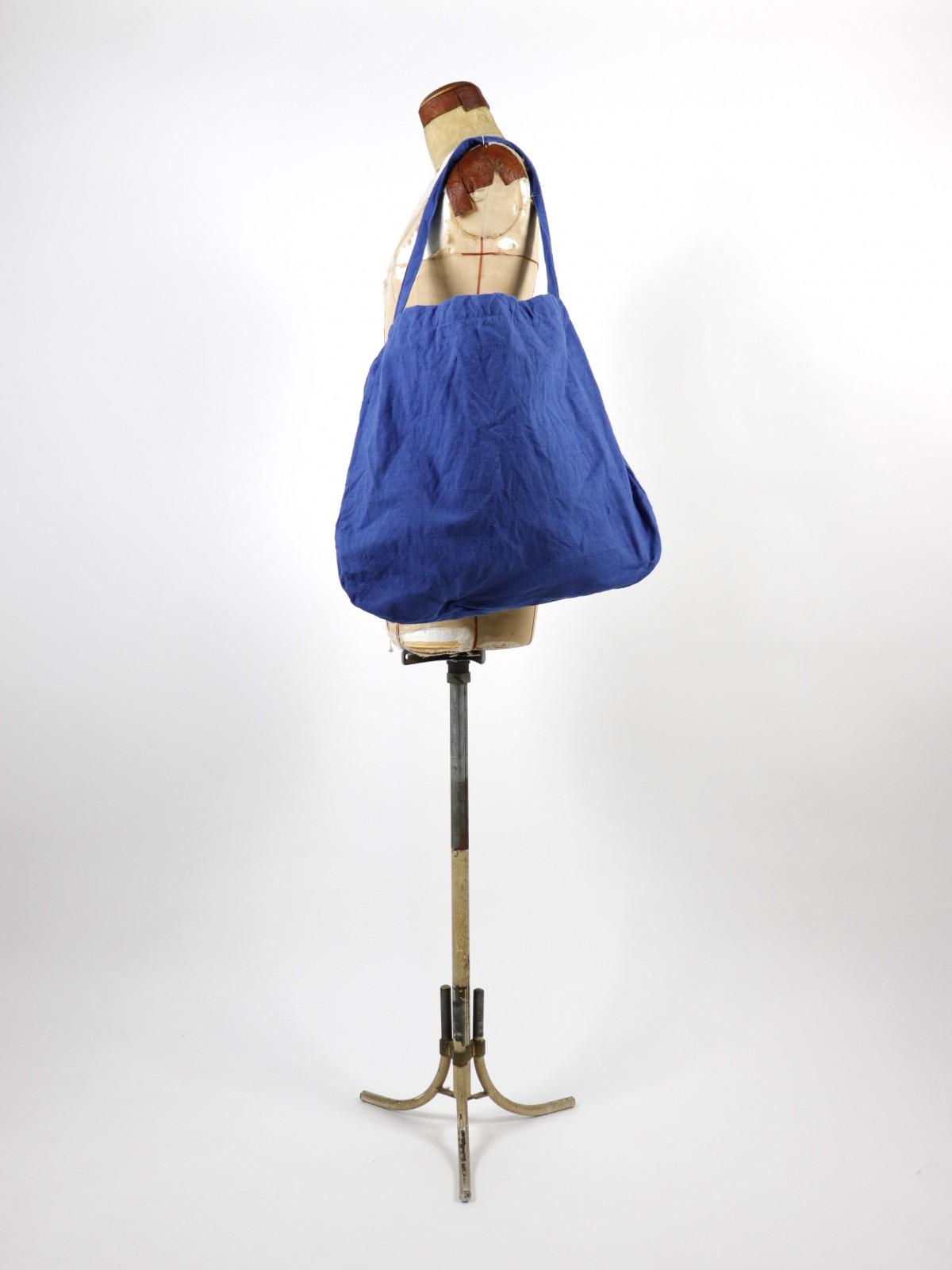 Deadstock linen,french linen,BROWN.remake,bag