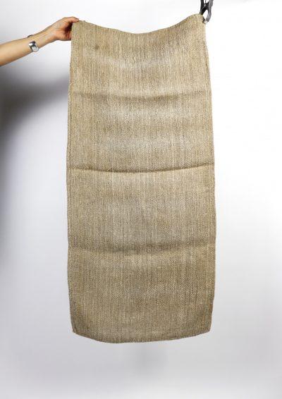 grain sack, linen, hungary, 1950's