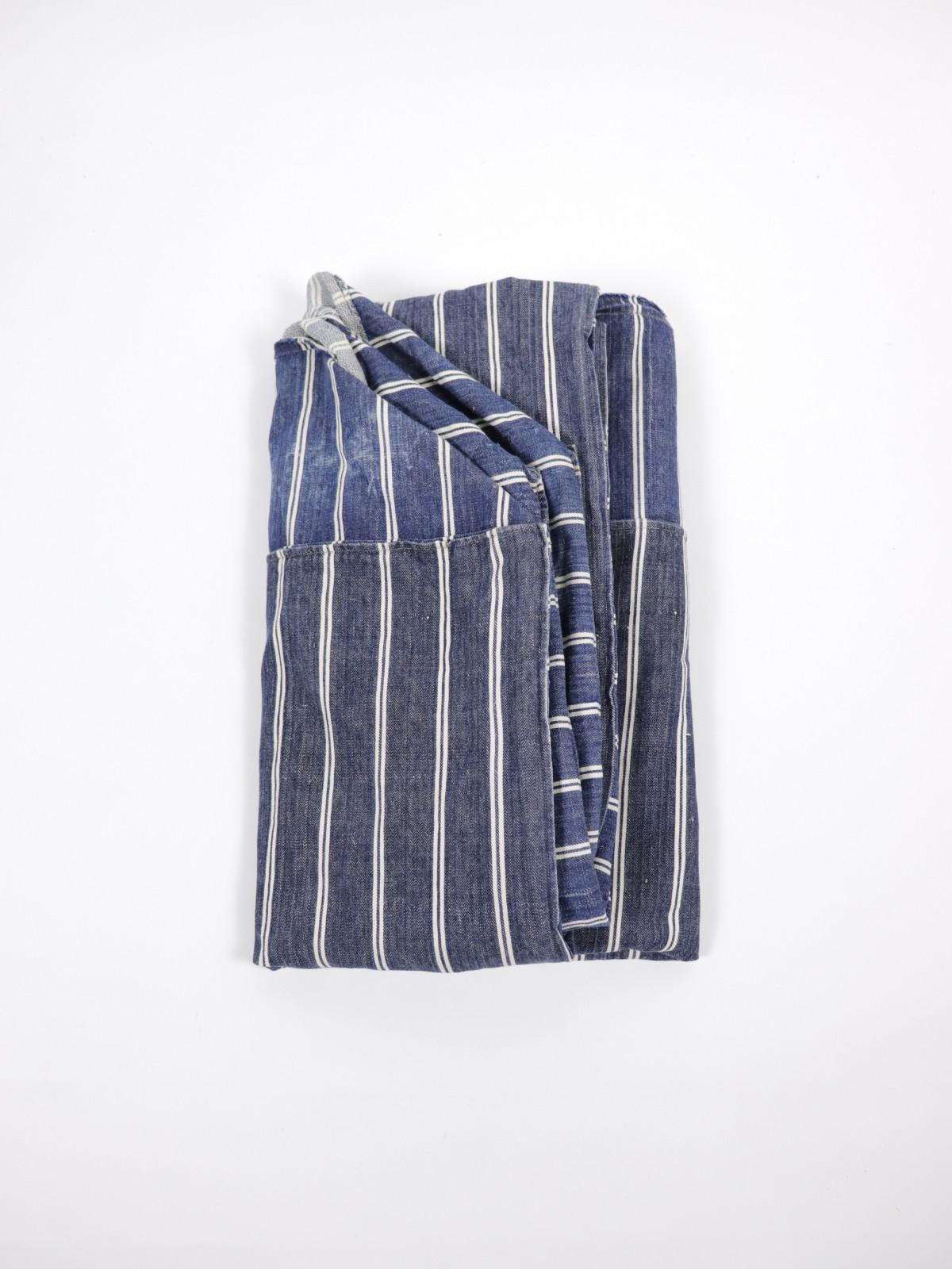 1960's , Italian denim fabric, upholstery fabric, Italy