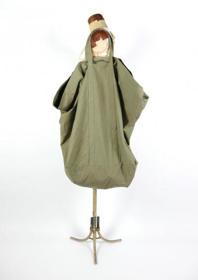 japanese tent fabric, brown.remake,bag