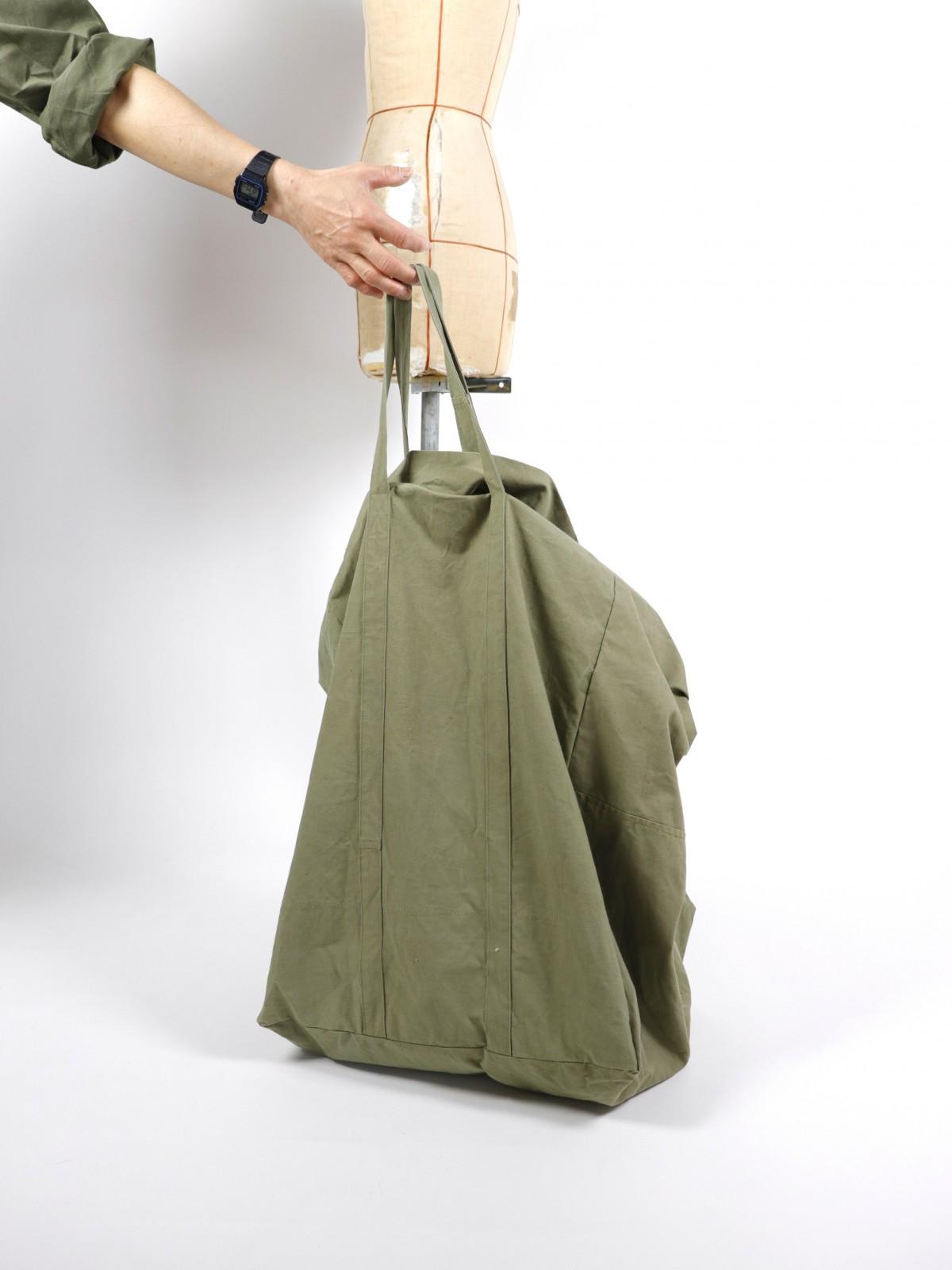 japanese tent fabric,brown.remake,bag