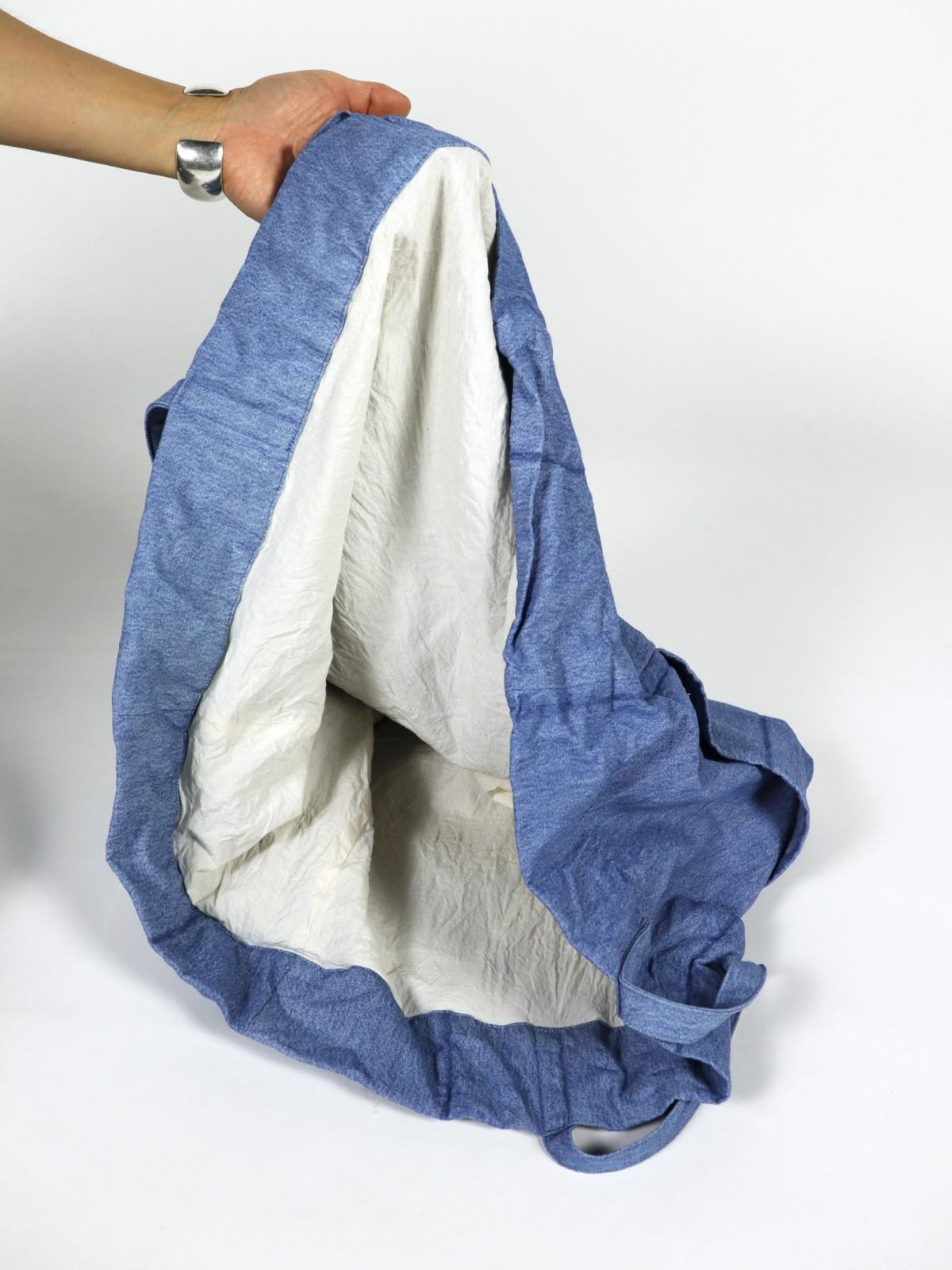 ralph lauren, denim fabric, brown.remake, bag