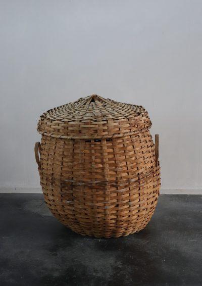 1930's, usa, ash basket