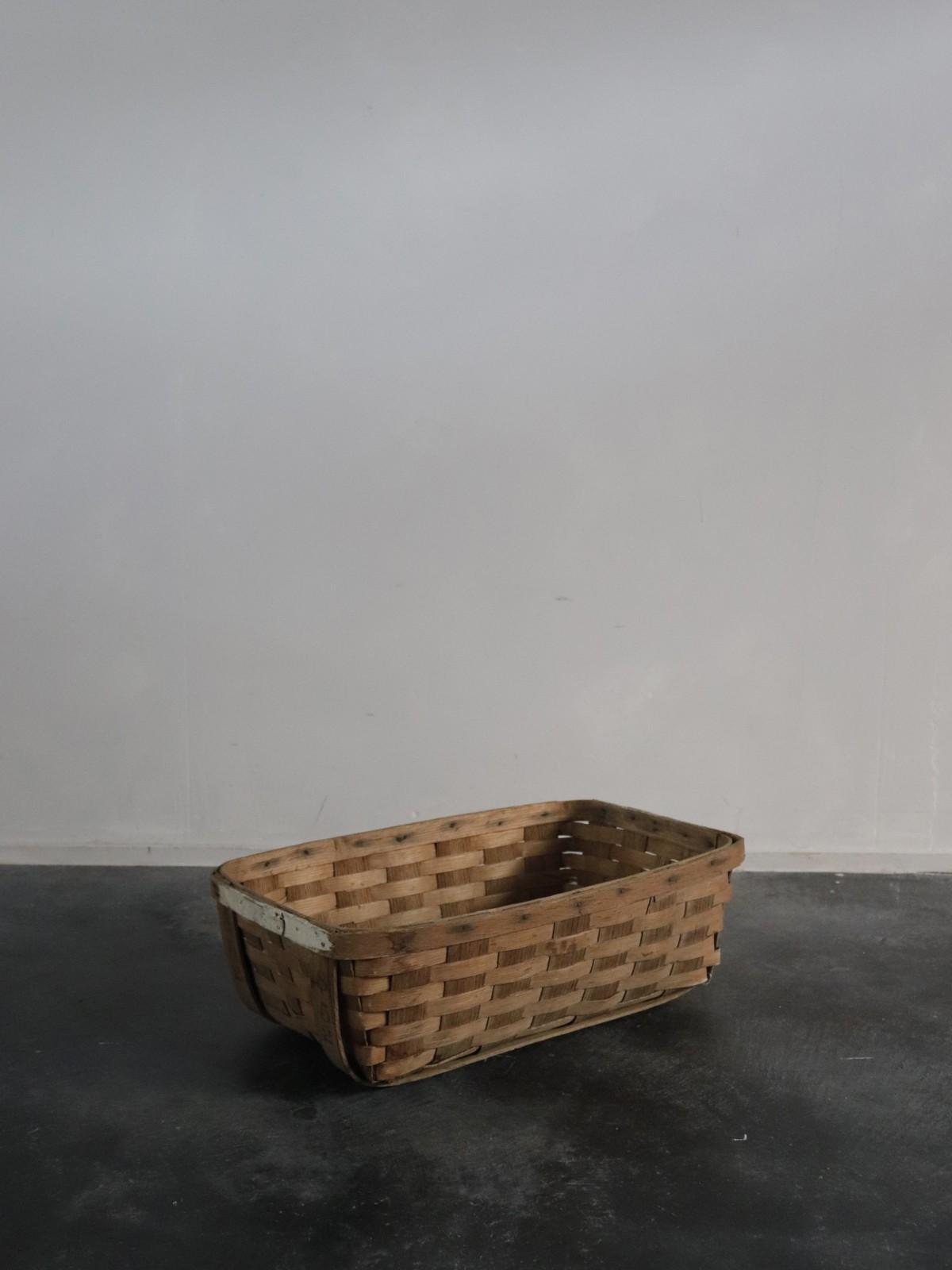 vegitable basket, usa, wood basket