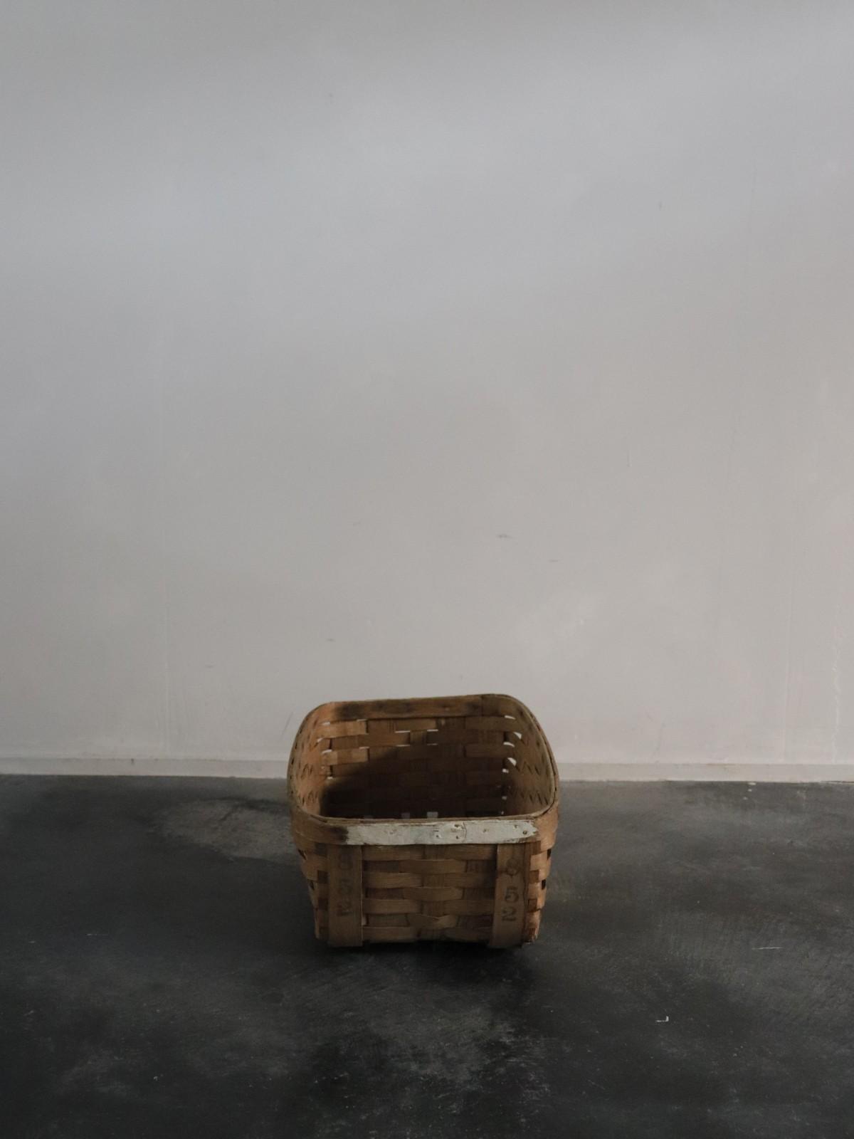 vegetable basket, usa, wood basket