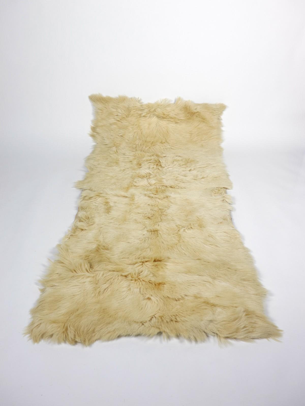 Fur rug, europe,