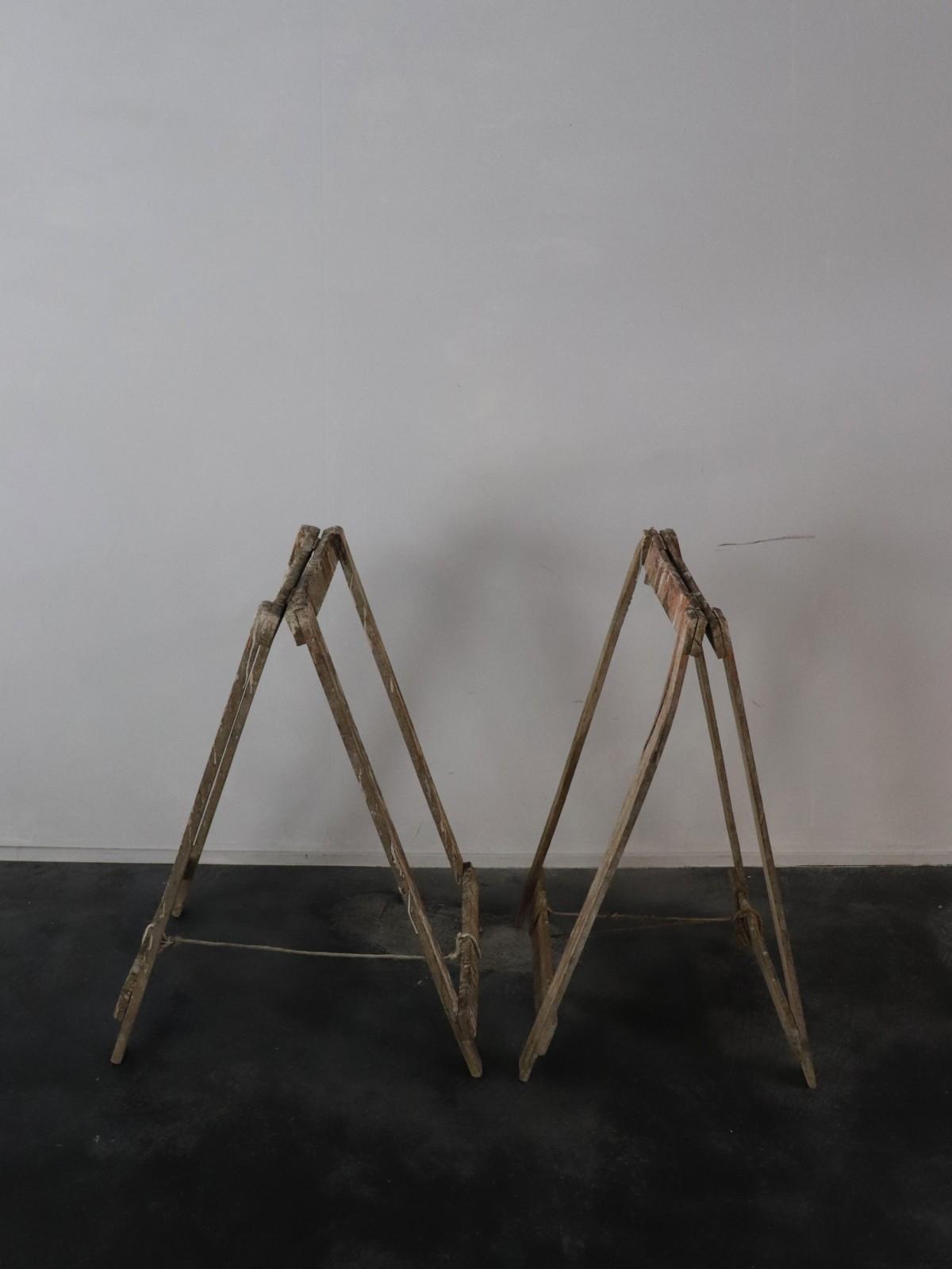 1950's, folding table legs, france