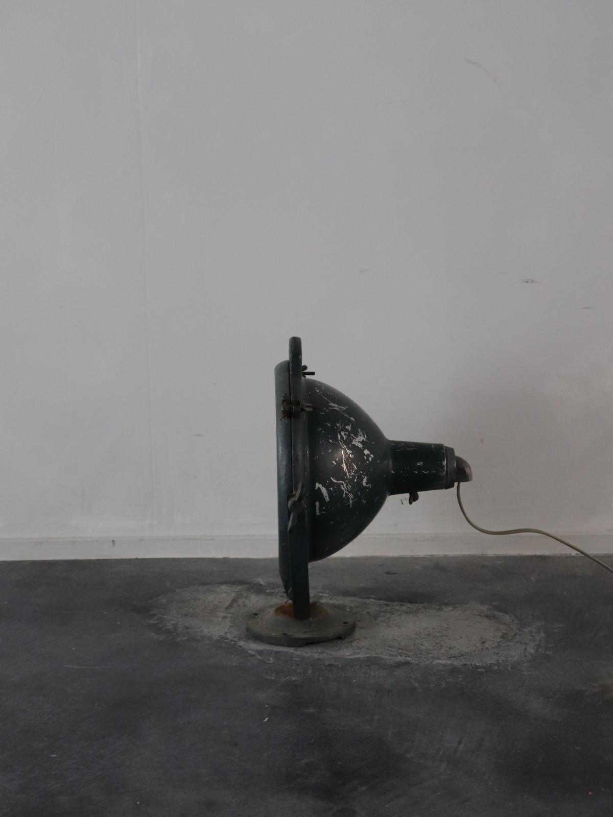 vintage lmap, flood light, national