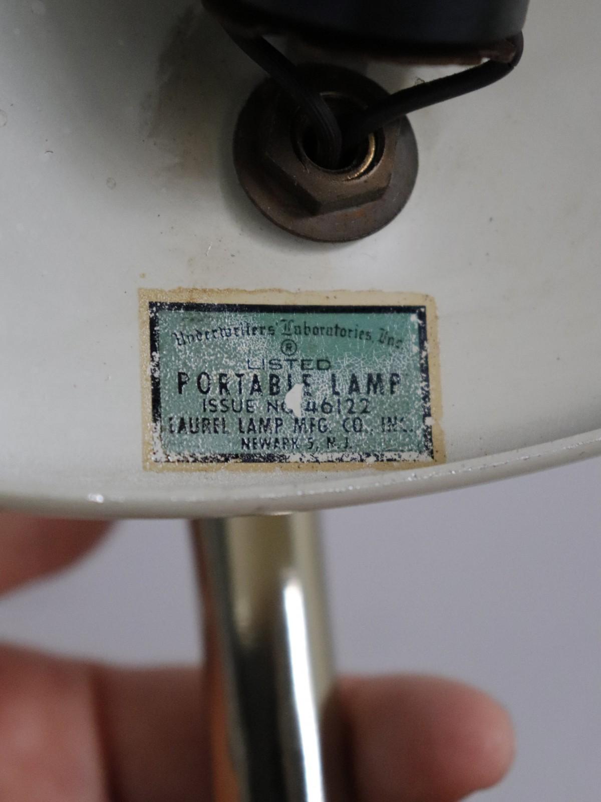 laurel lamp, mcm lamp, usa