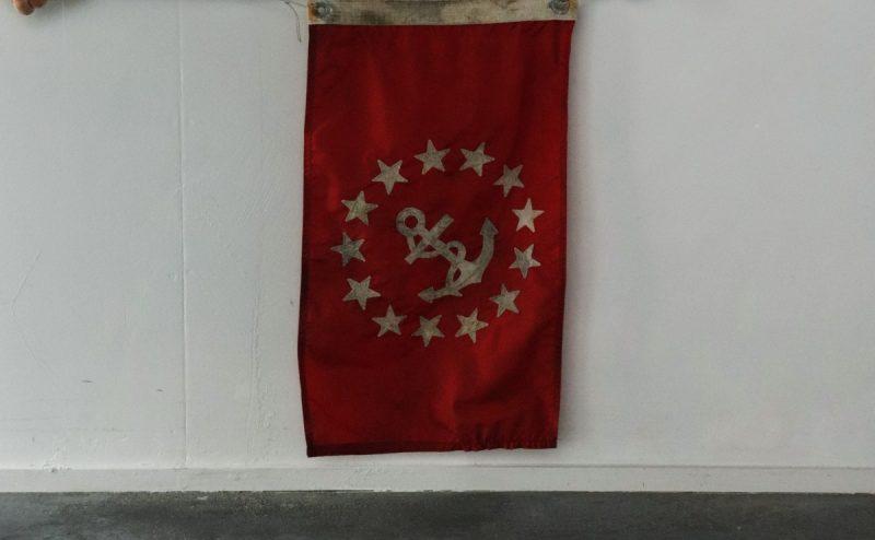 boat flag, usa, vintage flag