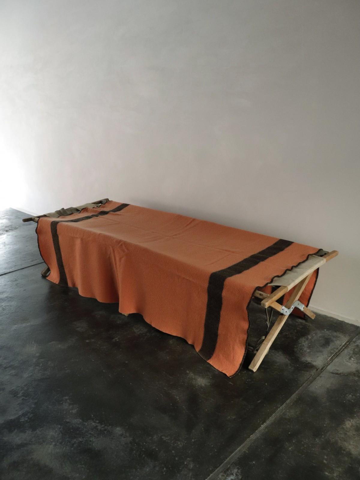 vintage blanket, usa, blanket with line
