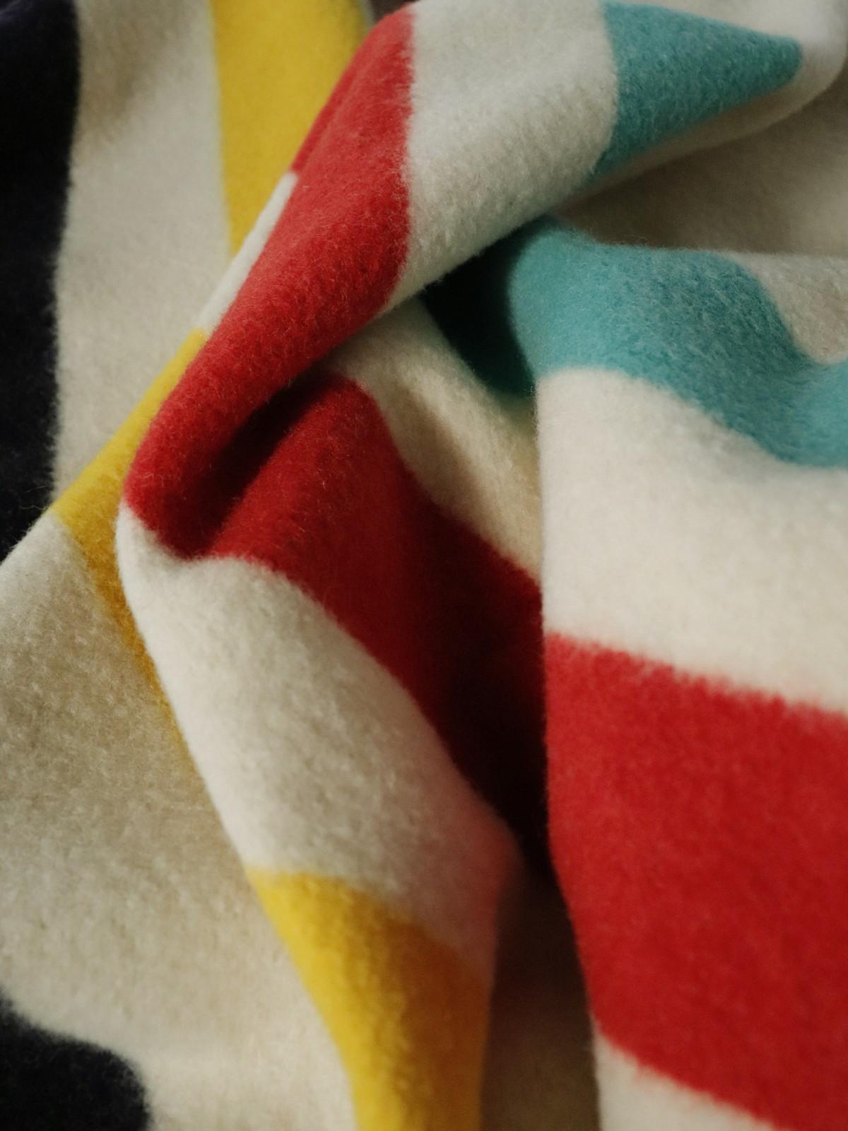 1950's blanket, hudson's bay blanket, canada