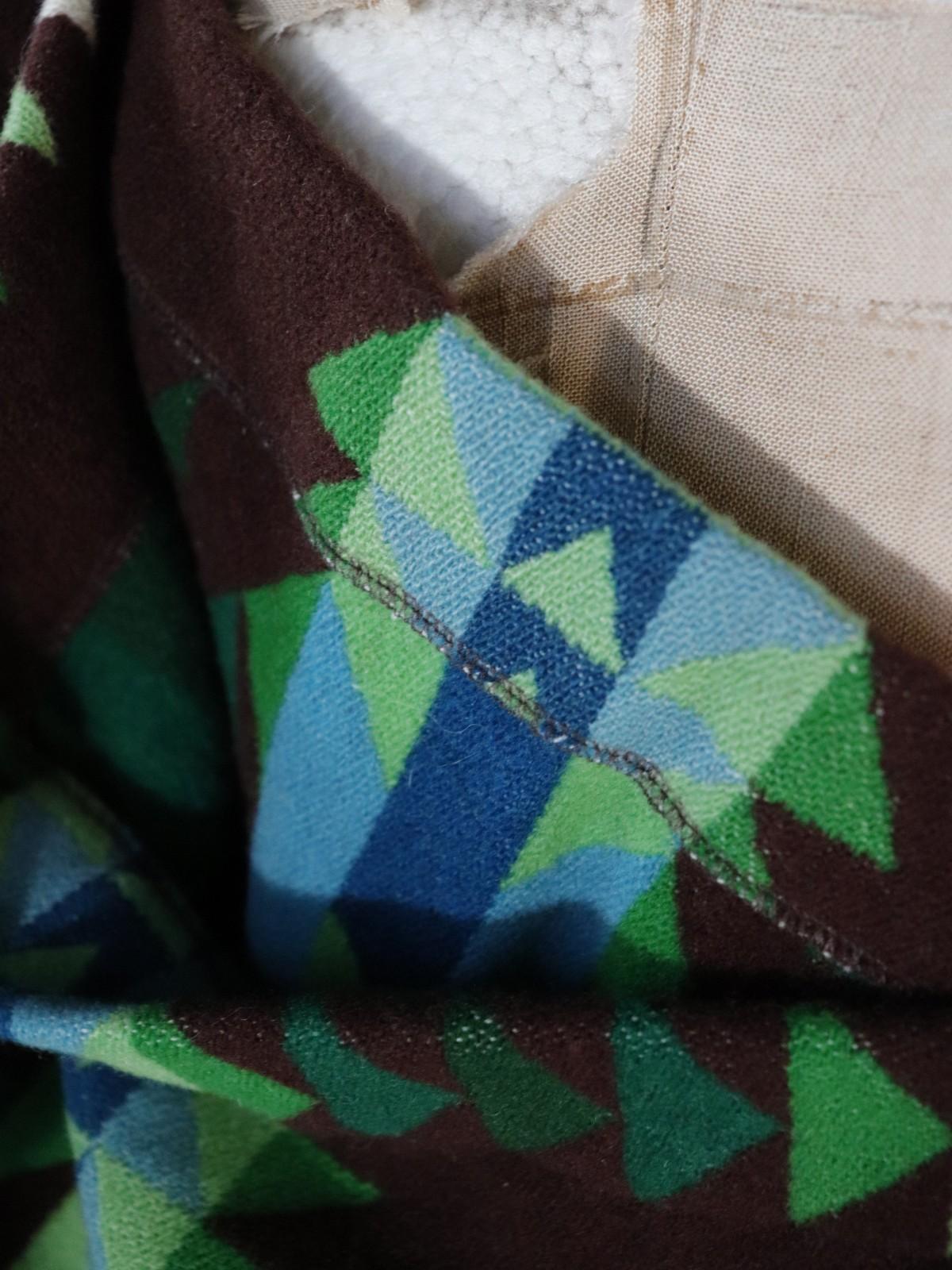 1970's, pendleton, brown.remake bag, usa