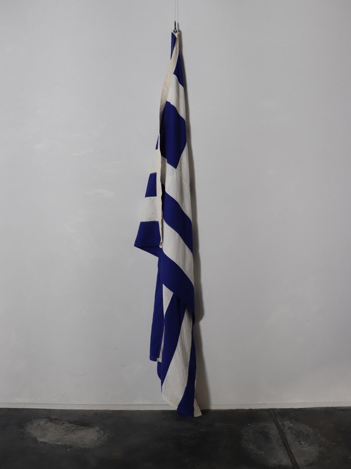 greek, flag, vintage
