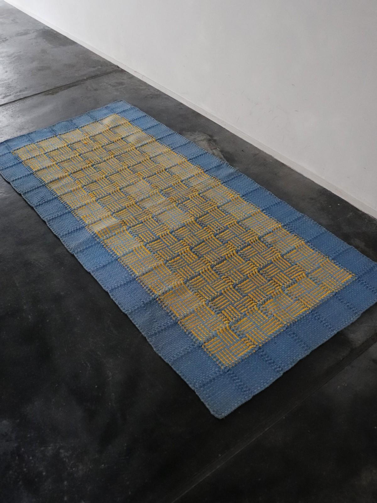 rag rug,usa,handmade,vintage