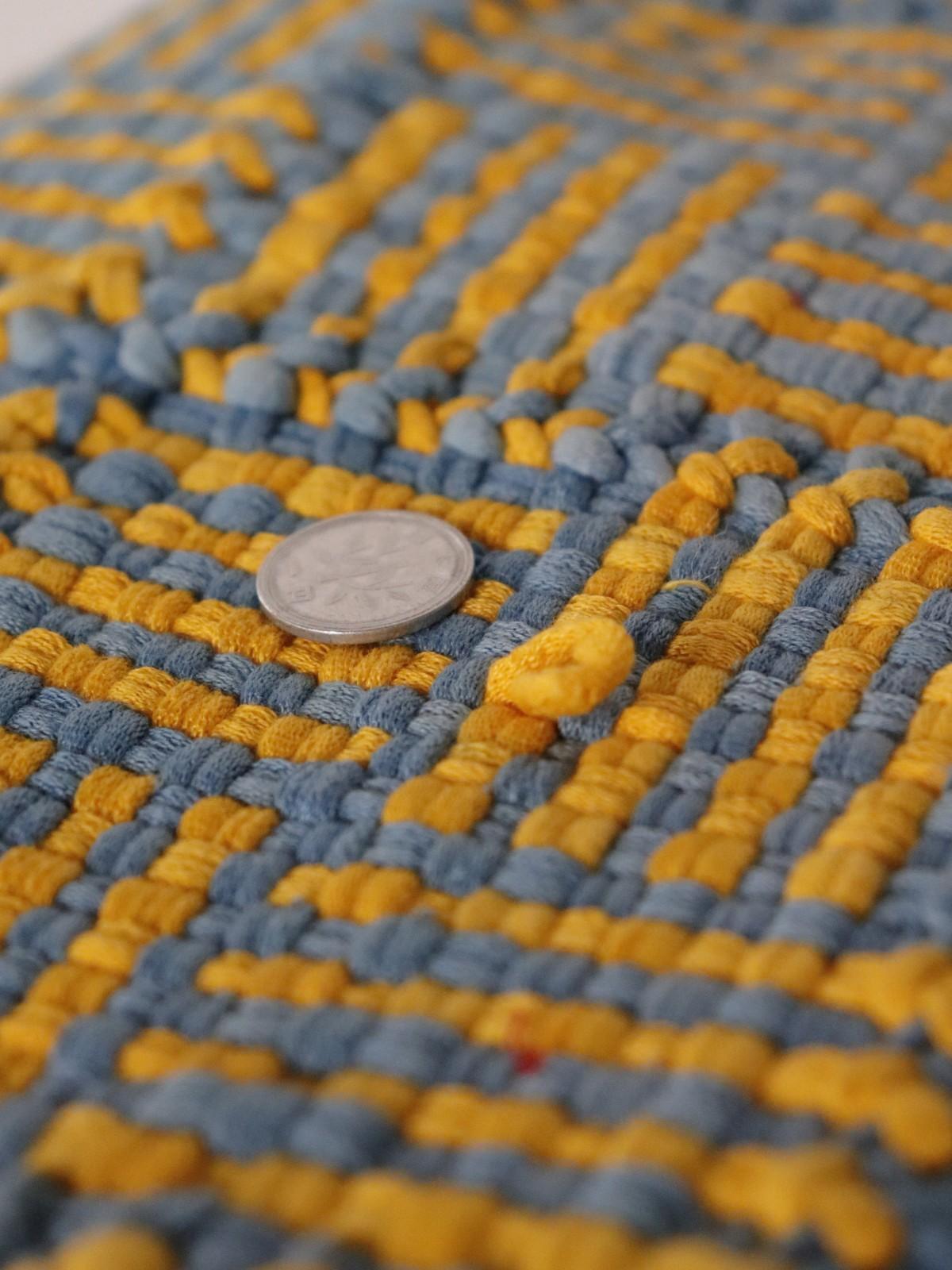 rag rug, usa, handmade, vintage cotton rug