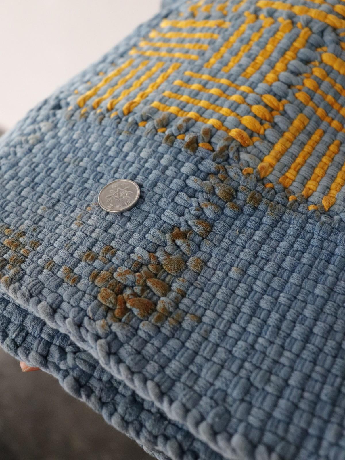 rag rug, usa, vintage, cotton rug