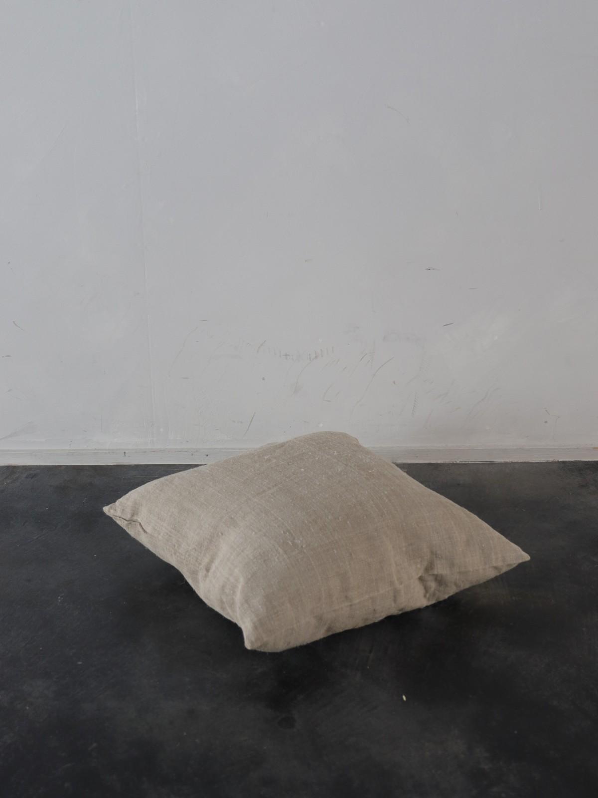 dead stock linen,uklaine,cushion, brownremake