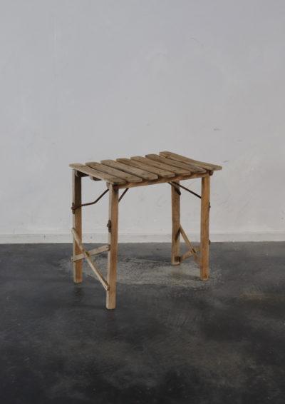 folding stool, france,1940's