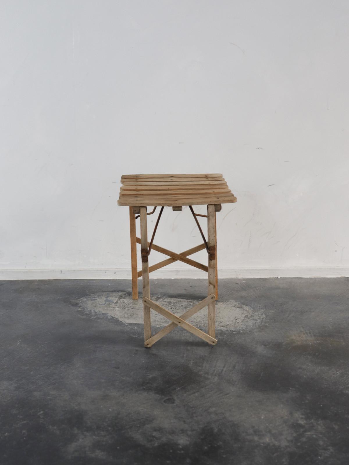 1940's, france, folding stool