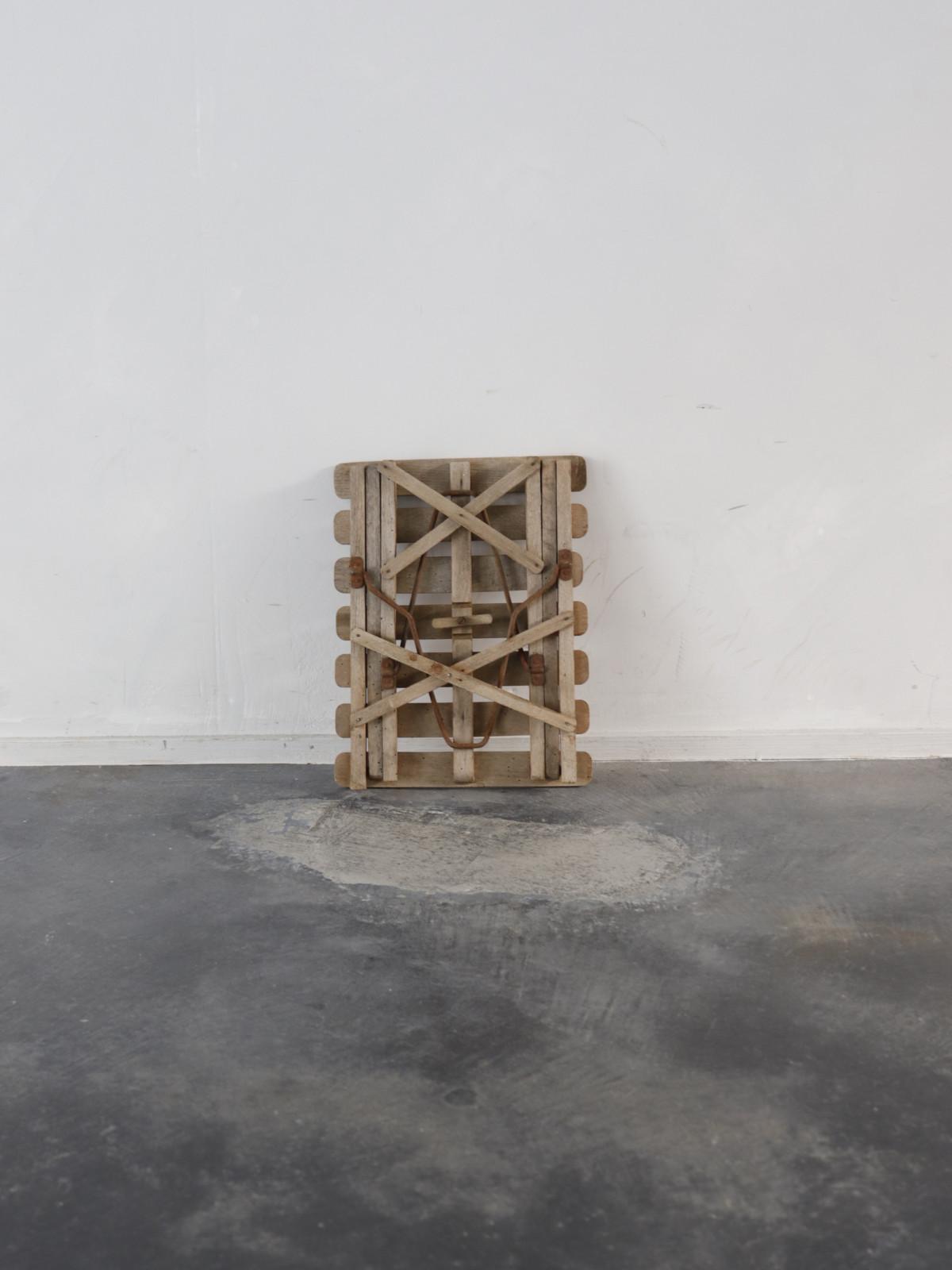 1940's, folding stool, france