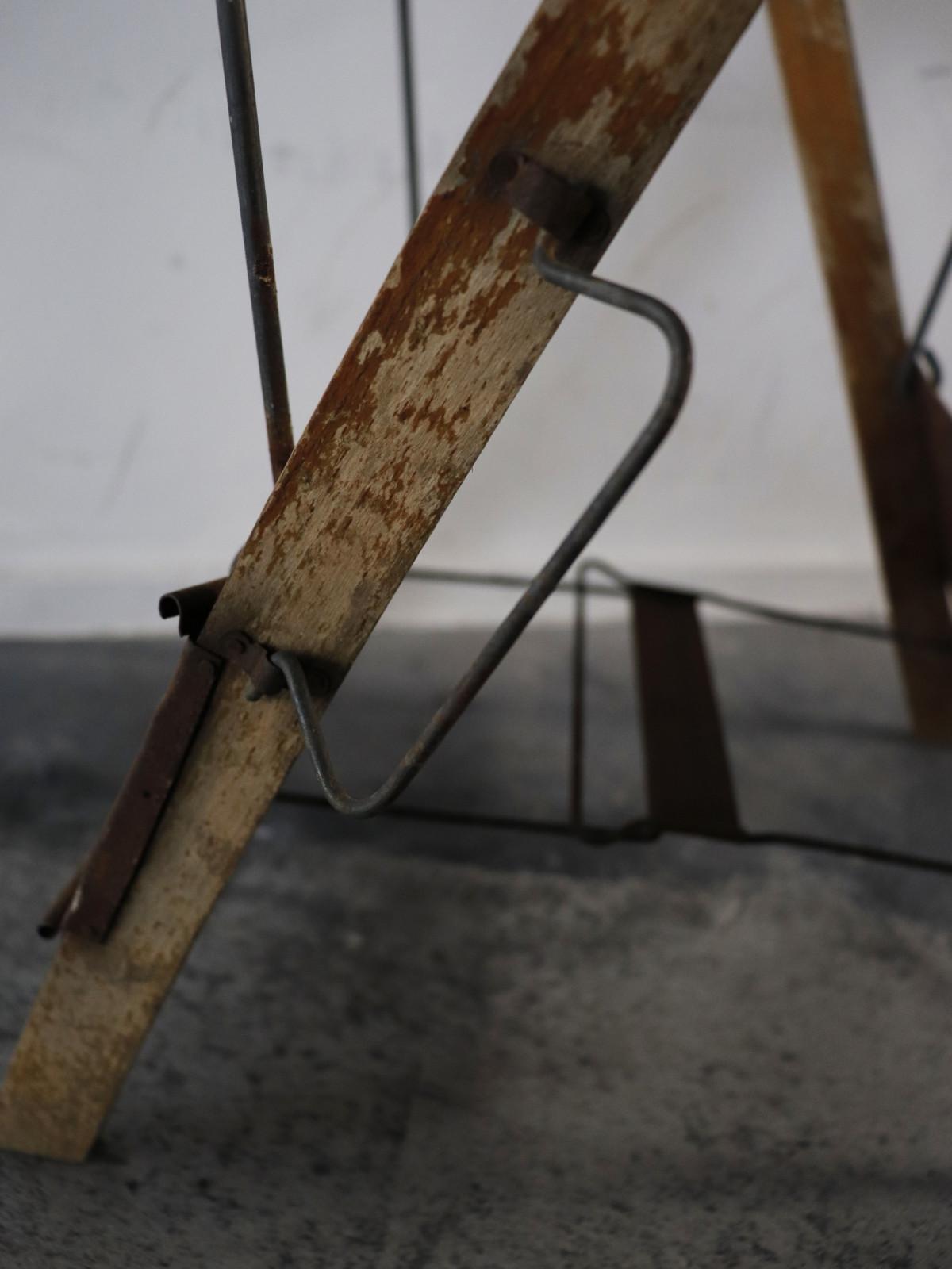 folding stool, 1930's, france