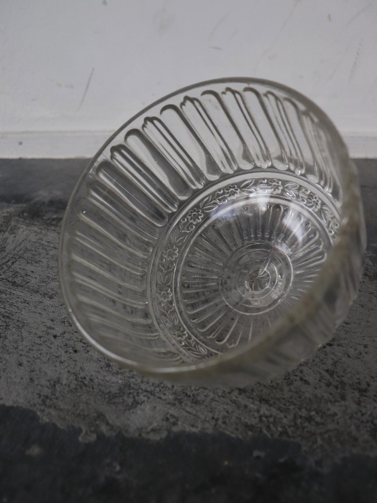 vintage glass dome, france