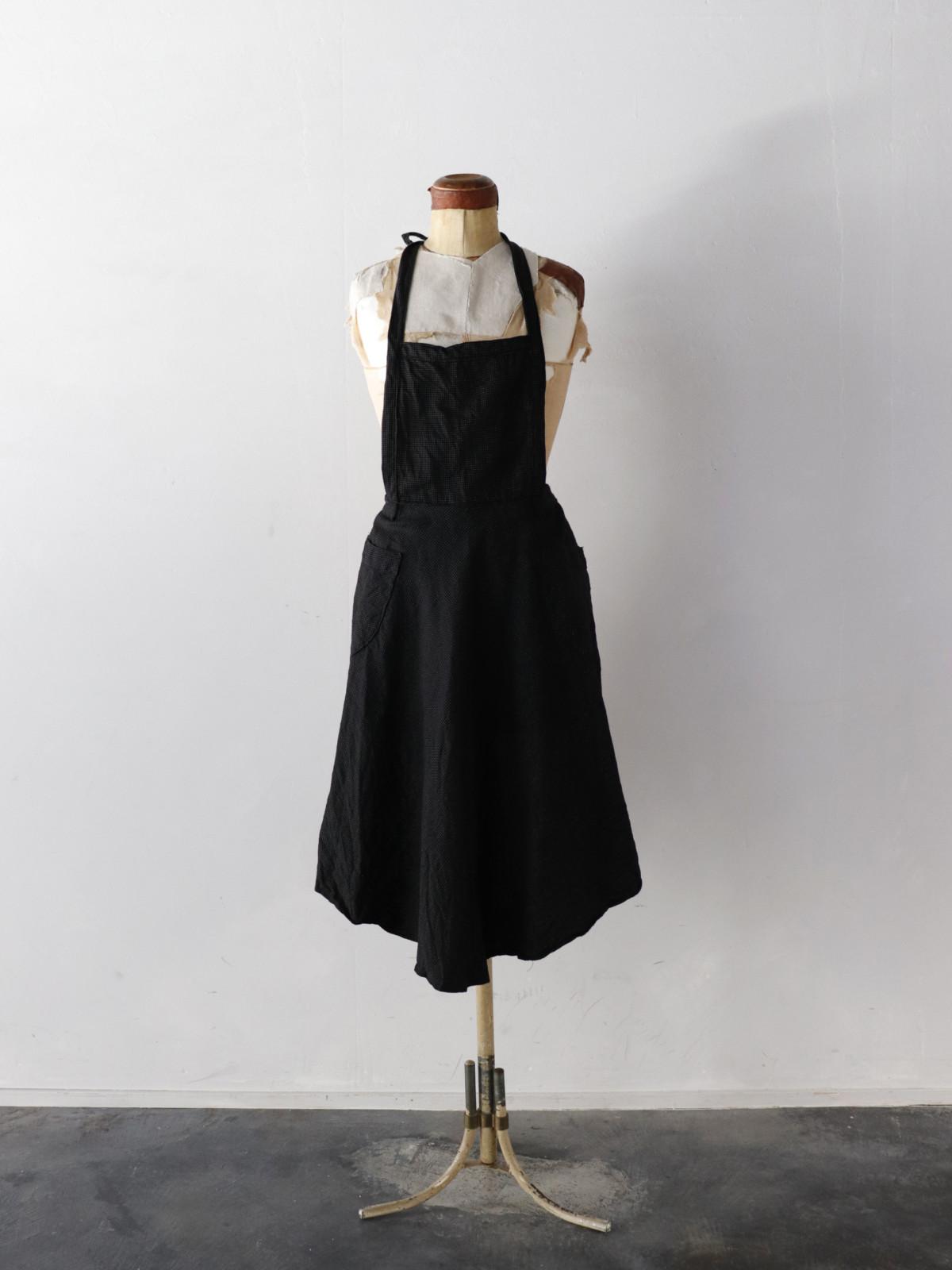 Vintage,France,dot's apron