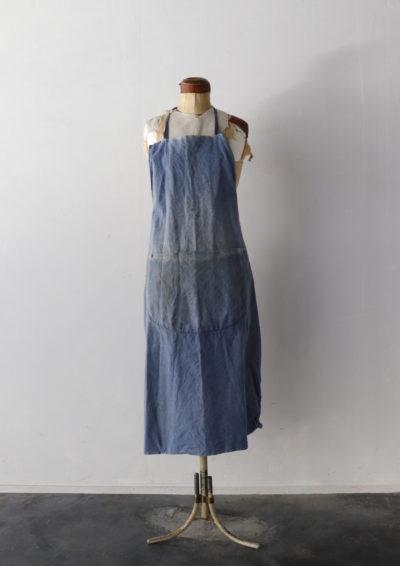 indigo linen,France,apron