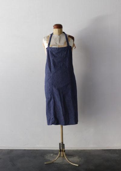 indigo stripe linen,France,apron