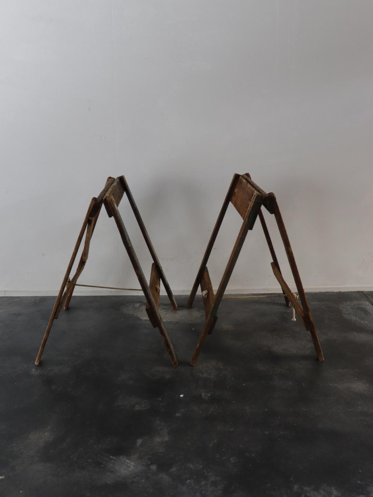 sawhorse,Vintage ,USA,folding