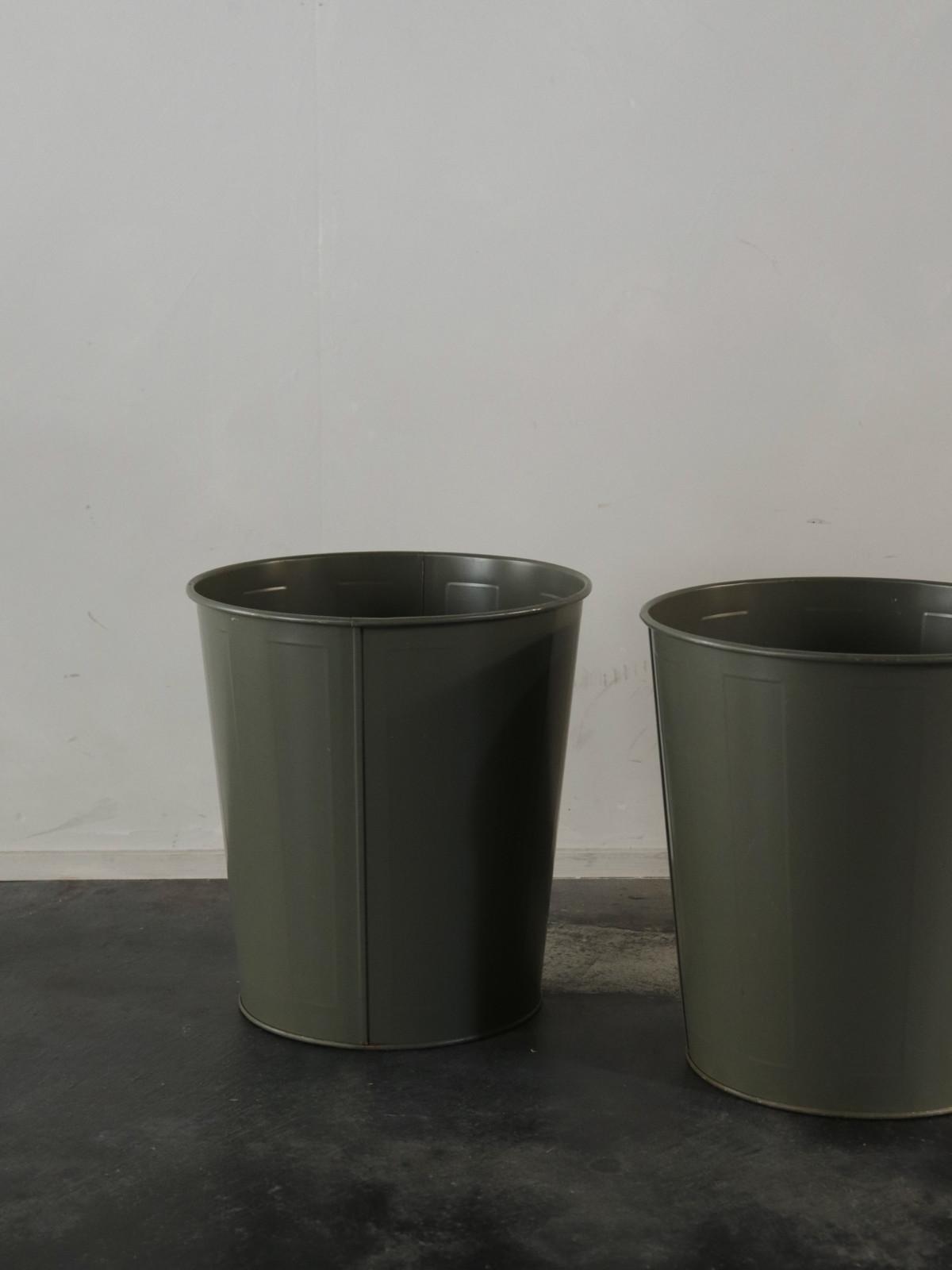 metal , trush can,USA