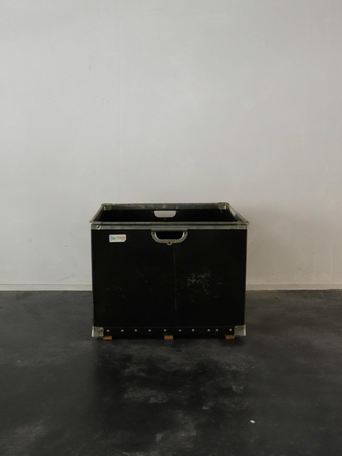 Fiber box,black,USA