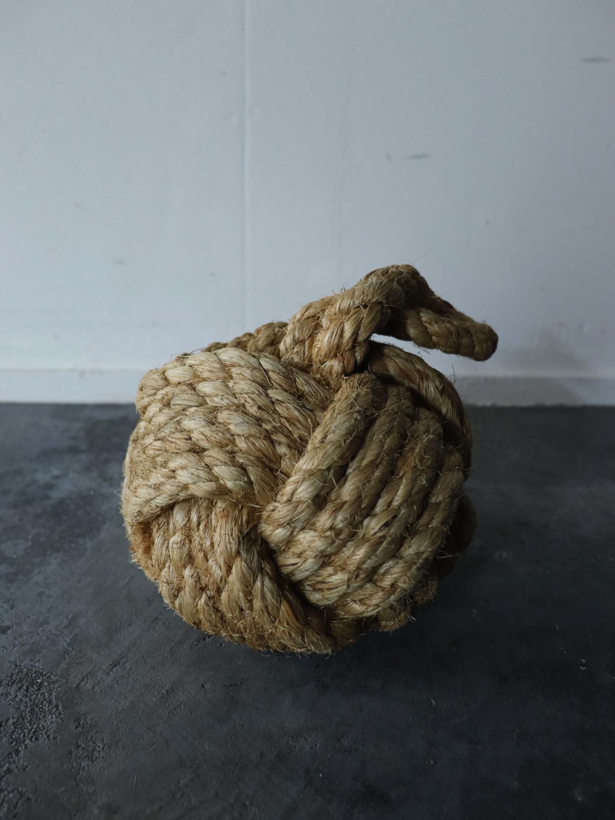 Jute rope, door stopper