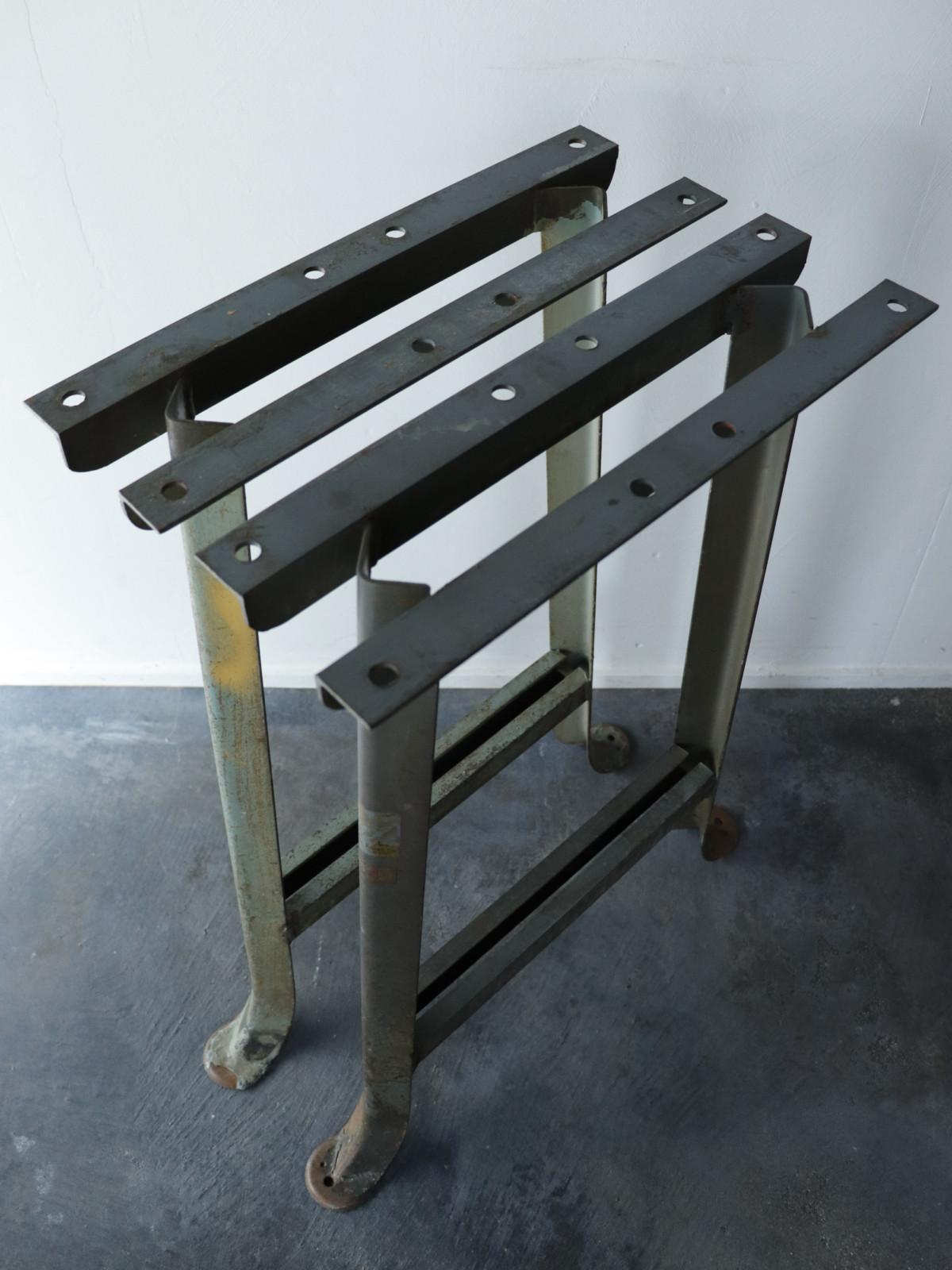 Iron sawhorse,USA,Vintage,industrial
