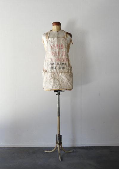 Vintage canvas apron, work apron,USA,Vintage