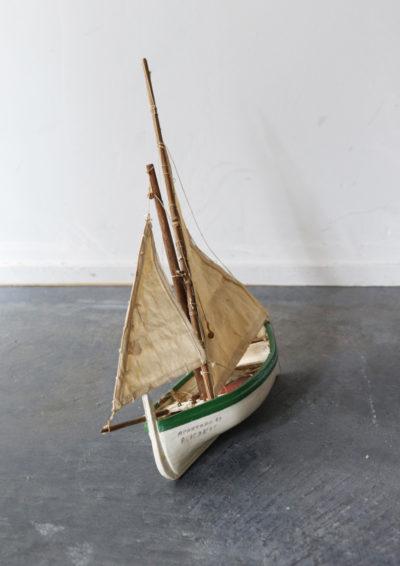 Wood yacht,France,toy,handmade