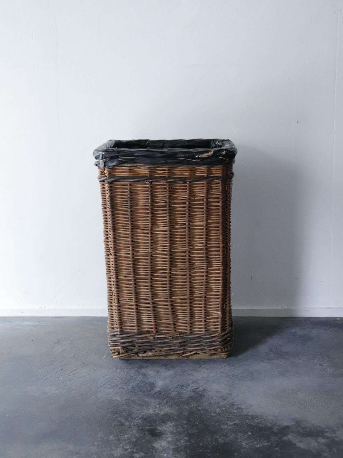 1940's, wicker bucket, England