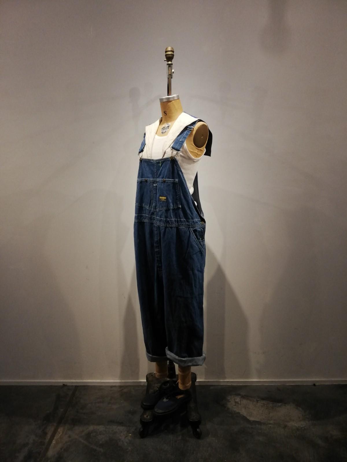 Osh Kosh B'gosh,denim overalls, sailor collar